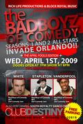 BAD BOYS OF COMEDY APRIL 1st at Destiny ORLANDO, FL