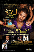Ray J Live in Orlando at Destiny Nightclub