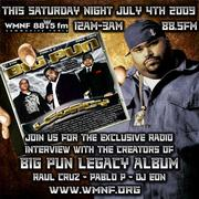 RAUL CRUZ PABLO P AND DJ EON EXCULUSIVE INTERVIEW THIS SAT JULY 4TH ON WMNF88.5 FM
