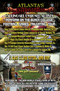 Perform at Magic City Classic and Tuskegee University Homecoming - NDaGame Tour