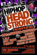 "BMORE HIP HOP ARTIST, SAVAGE DA BEAST IN ""HIP HOP FOR THE HEADSTRONG, HALLOWEEN ED."" @ THE QUARTER @ BOURBON STREET!"