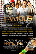 ~FAMOUS FRIDAYS @THE ALL NEW PLATINUM PRIMETIME~ $1000 SHAKE-OFF ~ FREE TIL 12AM ~