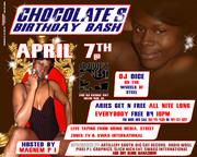 CHOCOLATE BIRTHDAY BASH