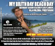 DJ EON CARIBBEAN BRITHDAY BEACH BBQ PARTY