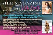 Silk Magazine Model Casting Call