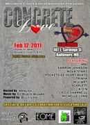 WISDOM COURT ENT. PRESENTS...CONCRETE LOVE, PT. 3 @ SONAR