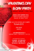Pre Valentines Cabaret