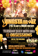 YUNGSTA DA WIZ 21st BDAY & MADE MIXTAPE RELEASE PARTY TUES JULY 26TH @OBSESSIONS (4525 GLENWOOD RD DECATUR, GA)!!