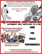 SAT 7/30 TEEN EXTRAVAGANZA :: BACK2SCHOOL JAM @ROSEL FANN RECREATION (365 CLEVELAND AVE SE ATLANTA, GA 30354!!)