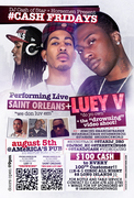 "@5tarDJCASH Presents LUEY V [LIVE IN CONCERT/VIDEO SHOOT] ""CASH FRIDAYS"" @ AMERICAS PUB KANSAS CITY"