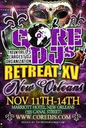 The Core DJ's Retreat XV: NEW ORLEANS, LA (NO2011)