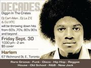 "DECADES "" Digging In The Crates"""