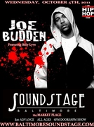 JOW BUDDEN, FEAT. BILLY LYVE, OCT. 5TH @ SOUND STAGE BALTIMORE!
