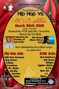 """Wisdom Court Ent.'s Mai Henderson live in Rah Staten's """"March Madness - Hip Hop Vs. R&B Ed.""""!"""