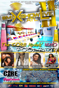 Digiwaxx & NUVO present: The Core Models' Pool Party