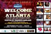 WELCOME TO ATLANTA  – SEPTEMBER 27, 2012 – ATLANTA, GA