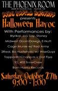 Born Hustla Records Presents: Halloween Havoc
