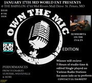 I OWN THE MIC RUN 636 EDITION