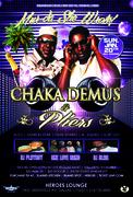 Chaka Demus & Pliers performing live