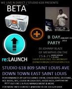 BETA RADIO RELAUNCH / DJ WHOBETA B DAY BASH