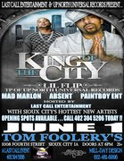 king of the city tour
