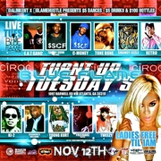 11/12 @BLUEFLAME LOUNGE #TURNTUP TUESDAYS HOSTED BY GREG STREET & THE BLUE FLAME TWINZ!! (AMATEUR CONTEST)