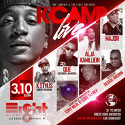 K Camp Live f. Que, Alja Kamillion, KStylis, & Young Major at The Eight (formally 618 Live)