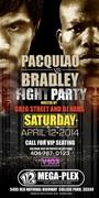 ~SAT 4/12~ PACQUIAO vs BRADLEY FIGHT PARTY HOSTED BY GREG STREET & DJ NABS @ATLANTA'S ALL NEW 112 MEGAPLEX!!! #112isBack