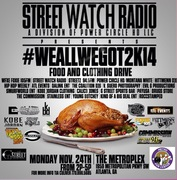 MON 11/24 HELP US GIVE BACK! #WeAllWeGot2K14 @MetroFunCenter 2PM-5PM!!