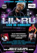 Def Jams Artist Lil Ru Live In Concert