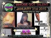 Jan 31st 2015 Whose Got Talent