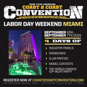 COAST 2 COAST CONVENTION 2015 in Miami