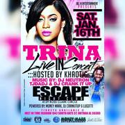 TRINA LIVE IN CONCERT HOSTED BY KHAOTIC