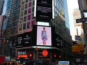 Airdye Dress in Times Sqaure