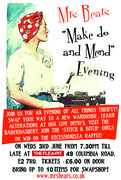 """Mrs Bear's """"make do and mend"""" evening"""