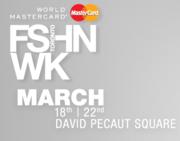 World MasterCard Fashion Week in Toronto