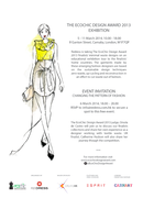 The EcoChic Design Award, Changing the pattern of fashion