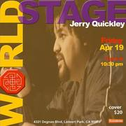 "JERRY QUICKLEY (american) FOOL w/ ""collabo-"""