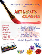 Arts and Craft Classes for Kids in Trinidad
