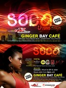 Soca Thursdays @ Ginger Bay Cafe