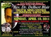 Dr. Blair, Sonja Nicole Note: Alexyss K. Tylor will not be appearing in April...
