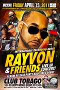 Rayvon and Friend's Live in Concert Album Release and Video Debutr