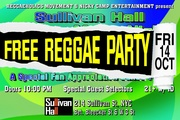 FREE Reggaeholics Appreciation Party on Frid Oct 16th!