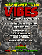 VIBES  80's and 90's Reggae Dancehall