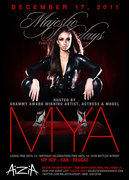 Grammy Artist, Actress & Model MYA host Club AiziA