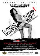 Destination Thursdays: FEMME FATALE Fashion Show & Party