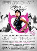 """BAD GIRLS CLUB """"MiMi The Dreamer"""" & friends - $100 btls - FREE w/rsvp"""