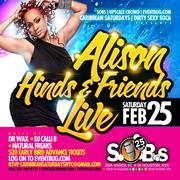 Alison Hinds & Friends Live!