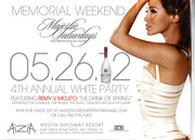 MEMORIAL WEEKEND ALL WHITE PARTY