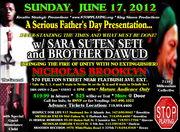 A Serious Father's Day Presentation.. SaRa Suten Seti & Brother Dawud